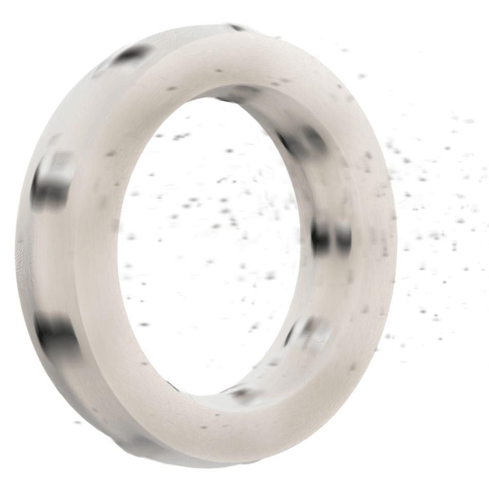 Solid-lube-ring