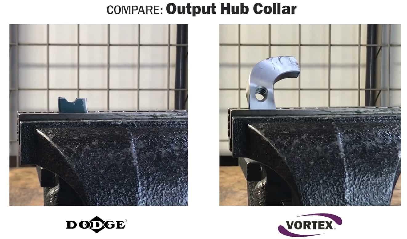 Vortex vs Dodge - Output Hub Collar