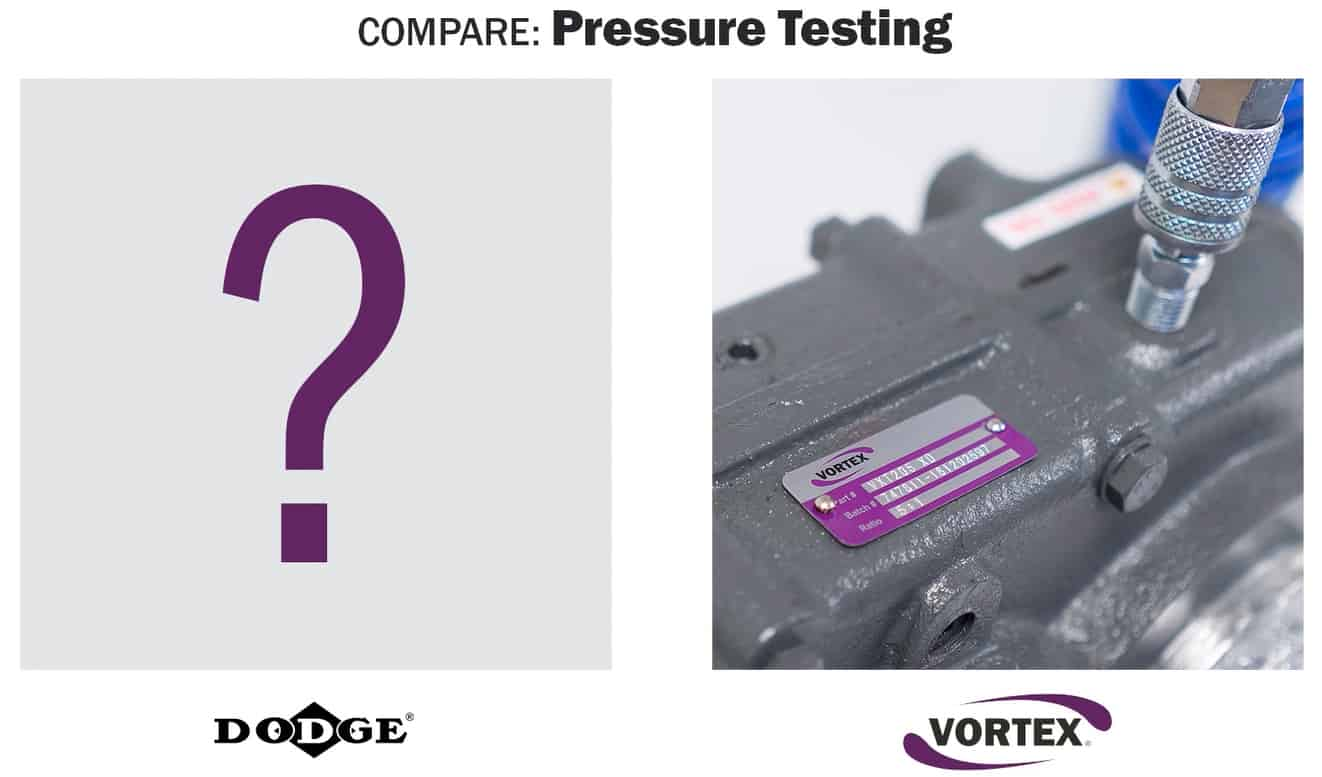Vortex vs Dodge - Pressure Testing