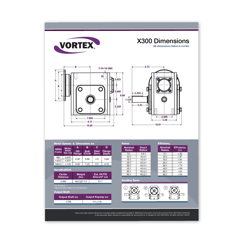 Vortex Spec Sheets Icon